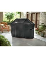 Custodia Premium per Barbecue Genesis II a 6 bruciatori vista dal vivo in giardino