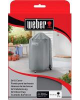 Custodia per Barbecue Weber a carbone d.47 vista frontale applicata su barbecue