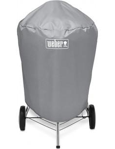 Custodia per barbecue Weber a carbone 57 cm vista angolata