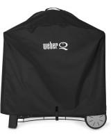 Weber Custodia DeLuxe in Vinile per Barbecue Serie Q 300/320/3000/3200 7184