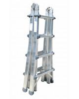 Scala professionale in alluminio Frigerio 1970/18R chiusa