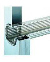 Scala professionale in alluminio Frigerio 1970/18R particolare gradino