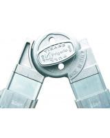 Scala professionale in alluminio Frigerio 1970/18R cerniere in metallo