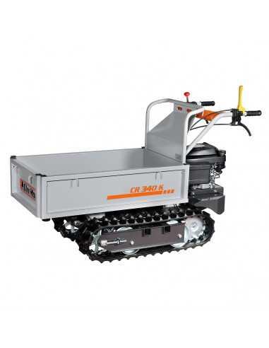 Oleo- Mac Carrello Cingolato CR 340 K Motore Emak K 650 OHV e Portata 350 Kg