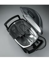 Grill elettrico Weber Q2400 visione aerea griglia e serpentina