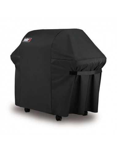 Custodia Premium per Barbecue Genesis II a 3 bruciatori vista angolata