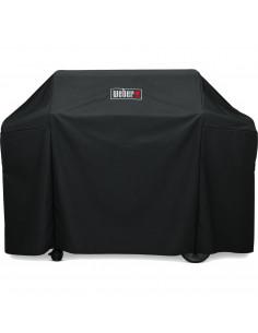Custodia Premium per Barbecue a gas Weber Genesis II a 6 bruciatori vista frontale
