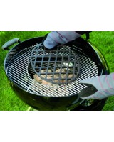 Griglia di rosolatura Gourmet BBQ System Weber su barbecue Master-touch 57 cm