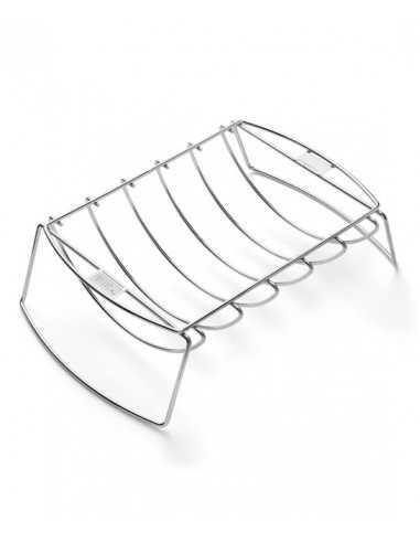 Supporto di cottura Weber per costine e arrosti lato concavo