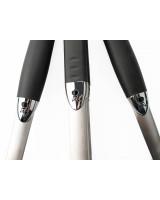 Kit 3 accessori Weber in acciaio inox con ingrandimento su logo Weber