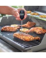 Termometro istantaneo Weber - Tascabile - misurando la temperatura di cottura del pollo