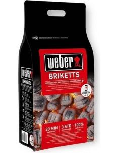 Bricchetti Weber 8kg sacco con chiusura richiudibile