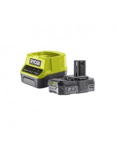 Kit Ryobi caricabatterie e batteria 18V 2,0Ah RC18120-120