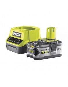 Kit Ryobi caricabatterie e batteria 18V 5,0Ah RC18120-150
