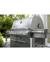 Weber Barbecue Summit S-670 GBS INOX - 6 Bruciatori 7370029