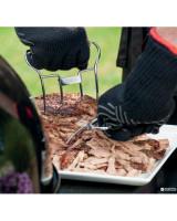 Guanti per barbecue Weber taglia L/XL su sfondo bianco