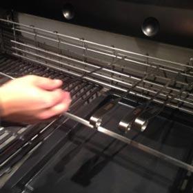 Nuova griglia di riscaldamento Tuck-Away